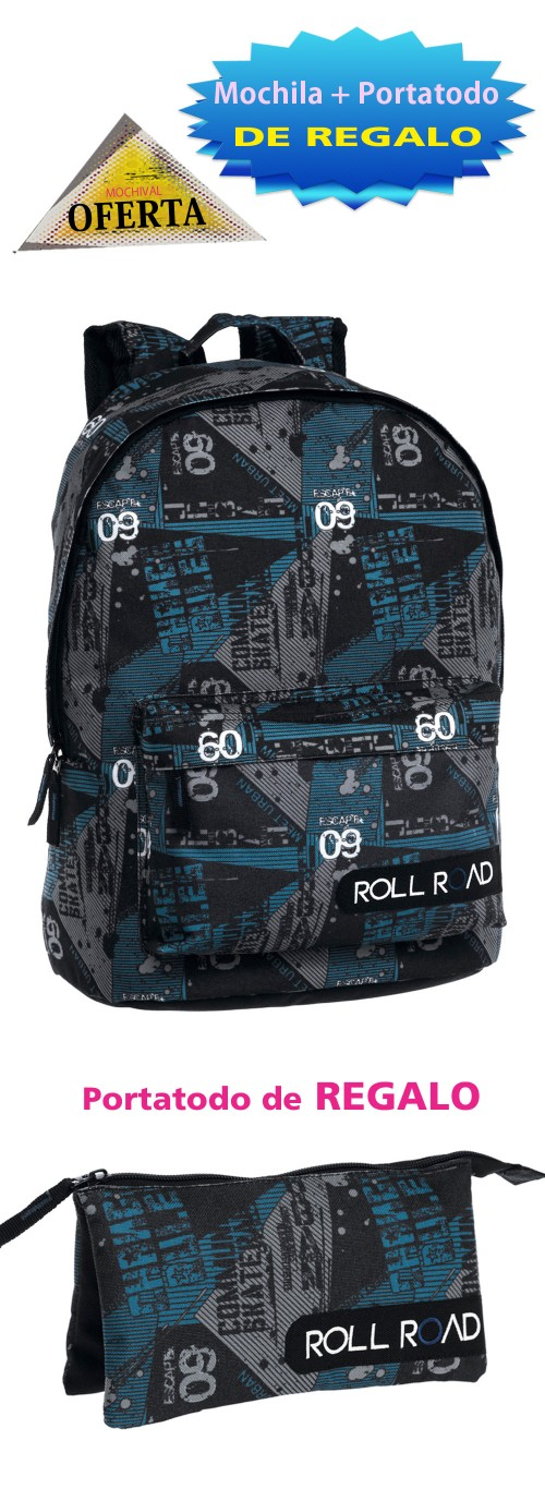 Mochila Roll Road 4132351 Adaptable a carro