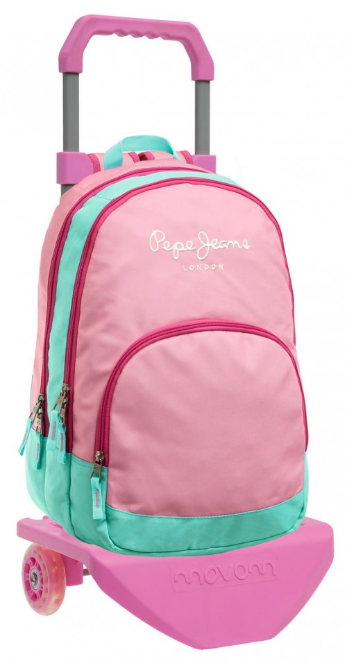 Mochila carro Pepe Jeans Pink 62524M1