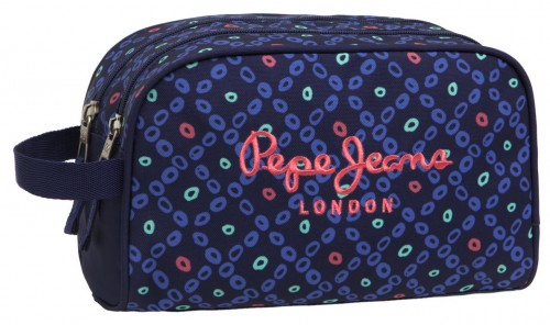 Neceser Adaptable Pepe Jeans Topos 6234451A  Doble compartimento