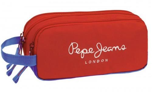 Portatodo triple Pepe Jeans Bicolor 6314751