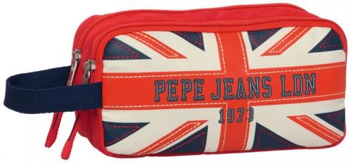 estuche 2 compartimentos pepe jeans 1934201