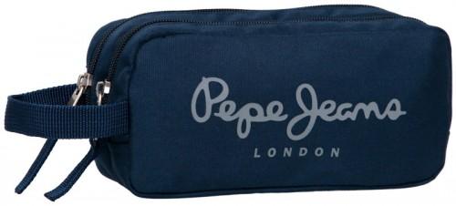estuche dos compartimentos pepe jeans  1884201