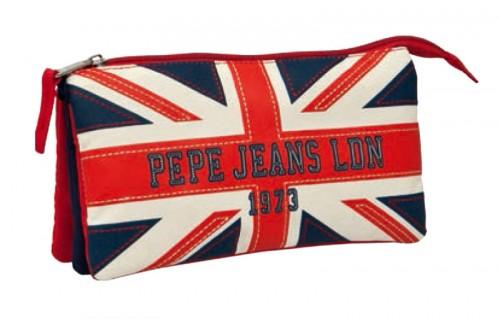 estuche tripe de pepe jeans 19343