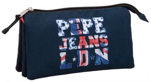 estuche triple pepe jeans 6064351