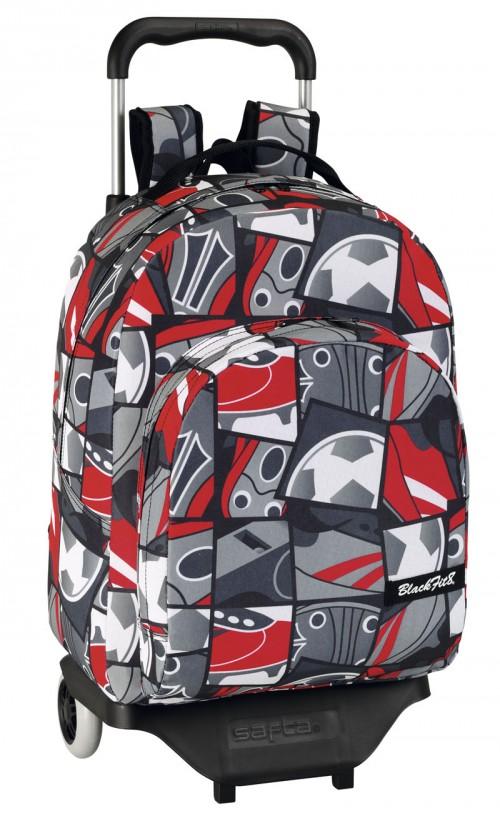 mochila con carro blackfit8 641311021