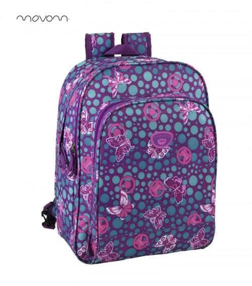 mochila escolar movom doble cremallera 39224f