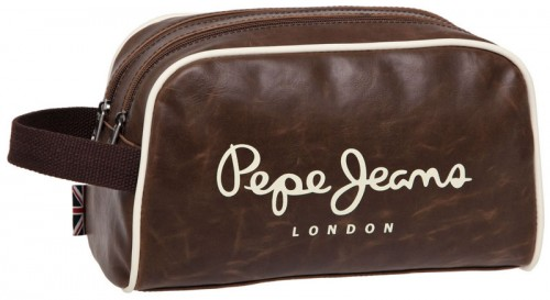 neceser pepe jeans adaptable 2 compartimentos 4154403