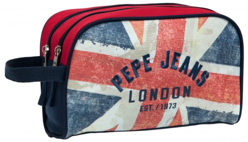 neceser doble pepe jeans 6054451 adaptable