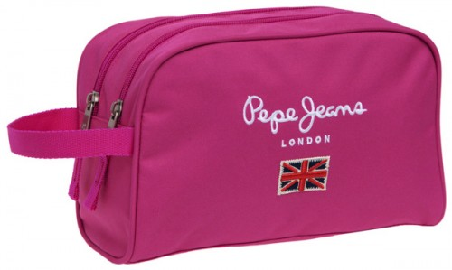 neceser pepe jeans 6014451 2 compartimentos adaptable