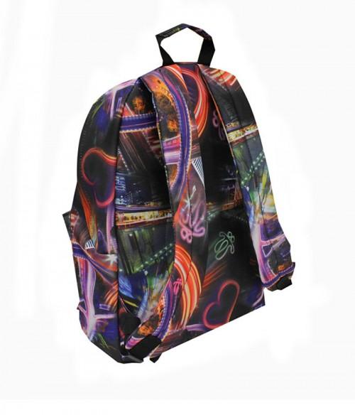mochila escolar totto caxius 4NJ  dorsal