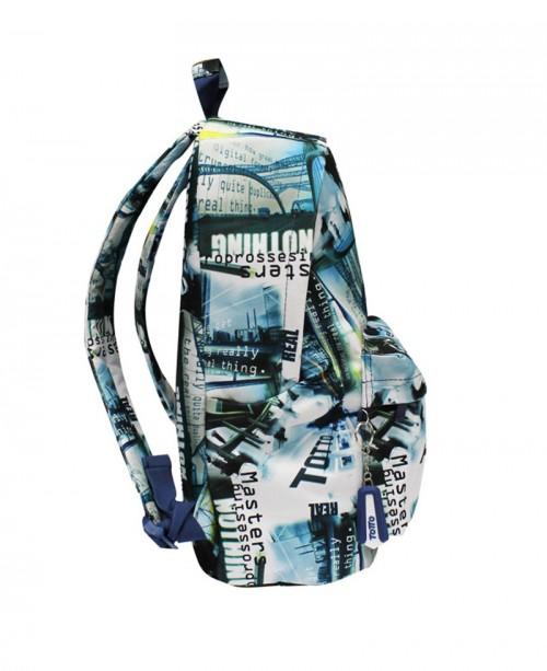 mochila escolar totto caxius 5B4 lataeral