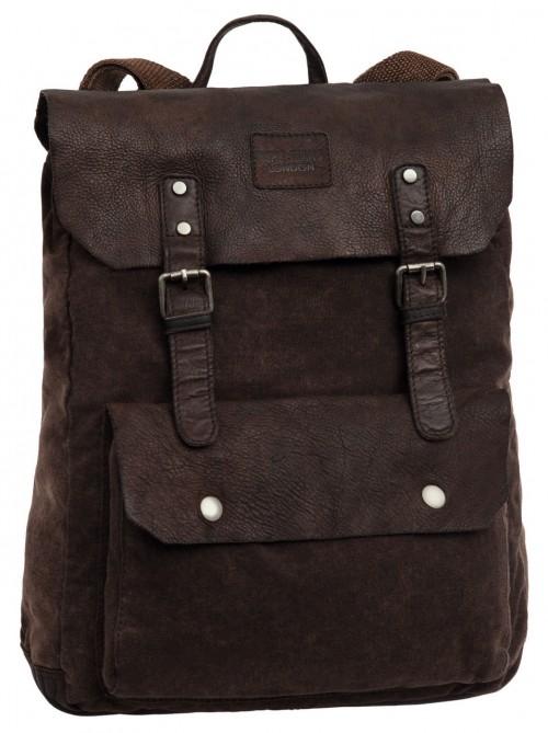 7462951 Mochila Pepe Jeans Canvas-Leather