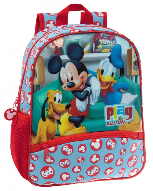 Mochila Mickey Play 45222A1 Adaptable