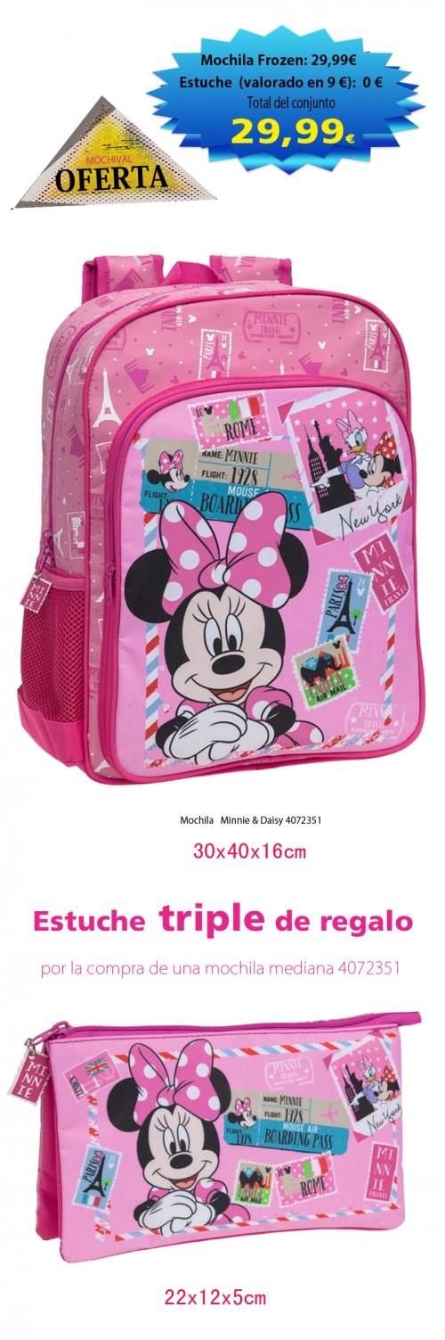 Mochila   Minnie & Daisy 4072351