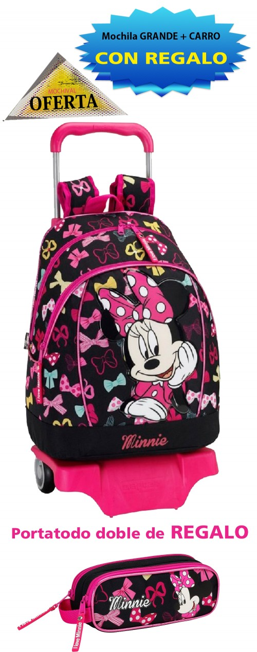 Mochila carro Minnie 611548160