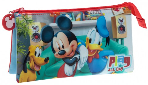 Portatodo triple Mickey Play 4524351