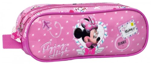 estuche minnie 16341 2 compartimentos