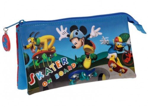 estuche minnie 40143513 compartimentos