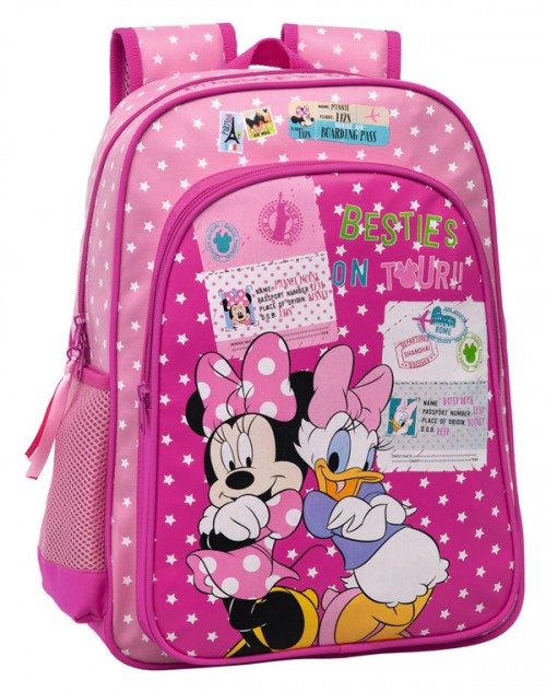 mochila minnie y daisy 2082351 adaptable a carrro