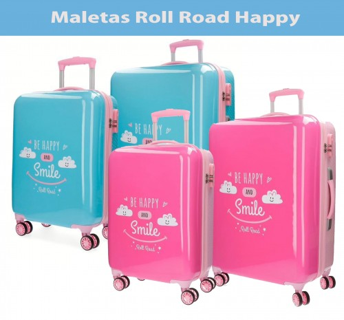 Maletas Roll Road Happy. Mochival
