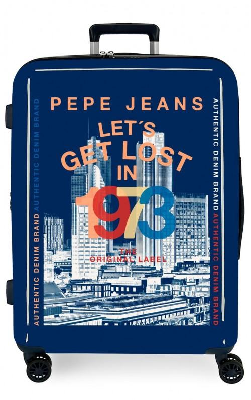 7199465 maleta mediana expandible pepe jeans leven connoe