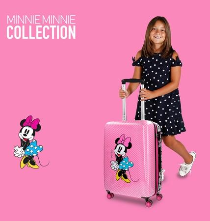 maletas infantiles colección minnie minnie