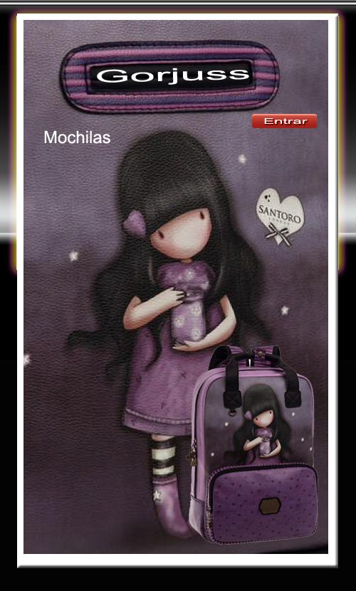 Mochilas Gorjuss
