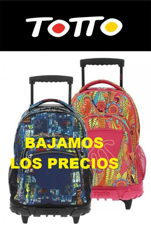Mochilas-Totto-Mochival BAJAMOS LOS PRECIOS