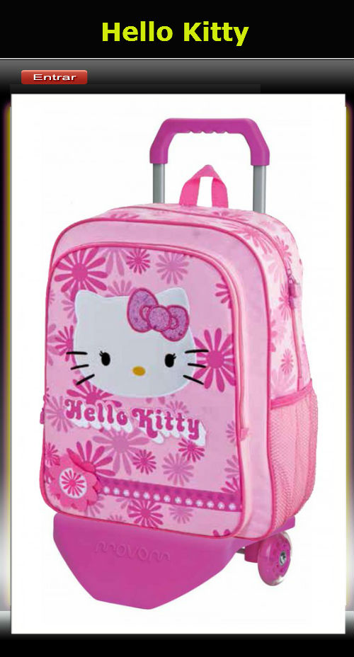 Mochilas Hello Kitty