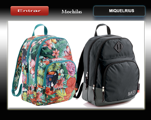 mochilas de miquelrius