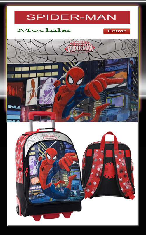 mochilas SPIDERMAN