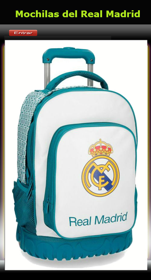 Mochilas del Real Madrid
