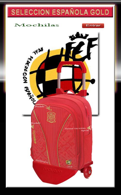 mochilas seleccion española