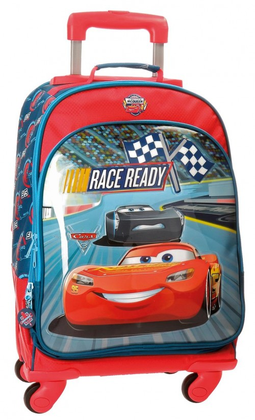 Mochila 4 Ruedas Cars Race 2152861