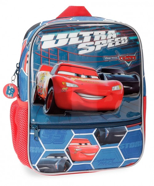 2282161 mochila 28 cm en 3 dimensiones cars ultra speed