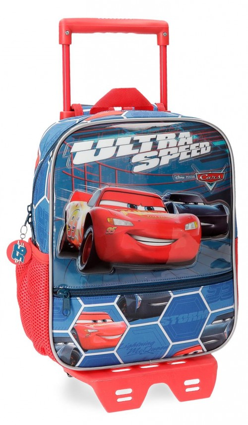 22821N1 mochila 28 cm 3d carro cars ultra speed