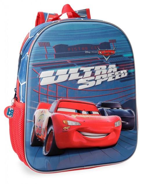 2282261 mochila 33 cm 3d cars ultra speed