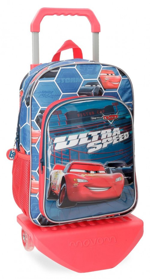 22823N1 mochila 38 cm carro cars ultra speed