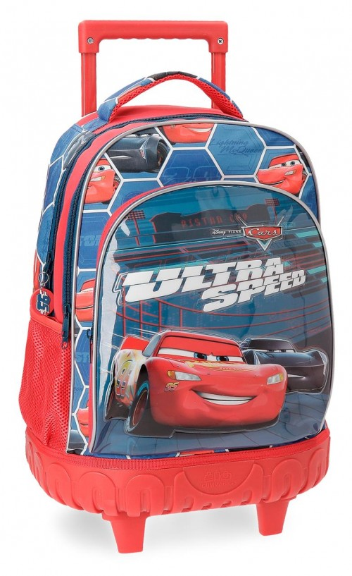 2282961 Mochila Compacta Cars Ultra Speed de 2 Ruedas
