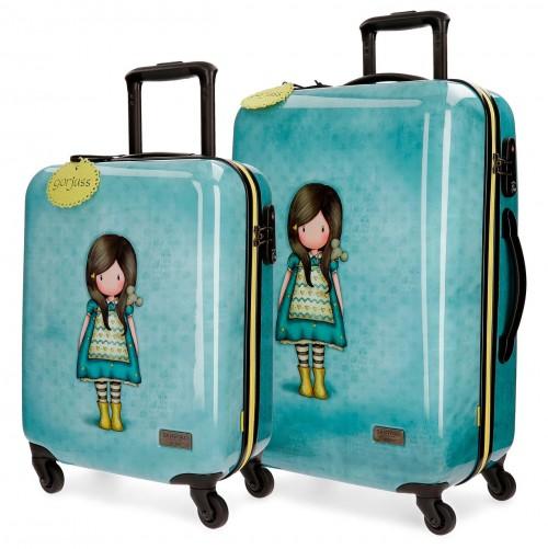 3211661 juego maletas cabina y mediana gorjuss the little friend