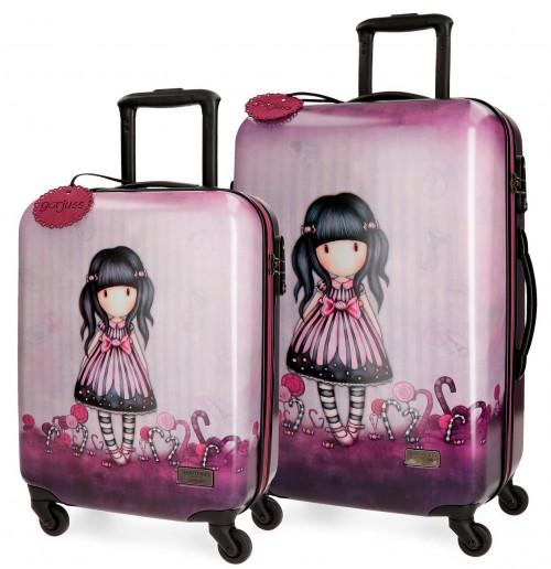 3231661 juego maletas cabina y mediana Gorjuss  Sugar & Spice
