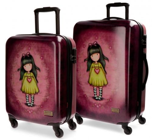 Juego 2 maletas Gorjuss Heartfelt 3511651 cabina y mediana