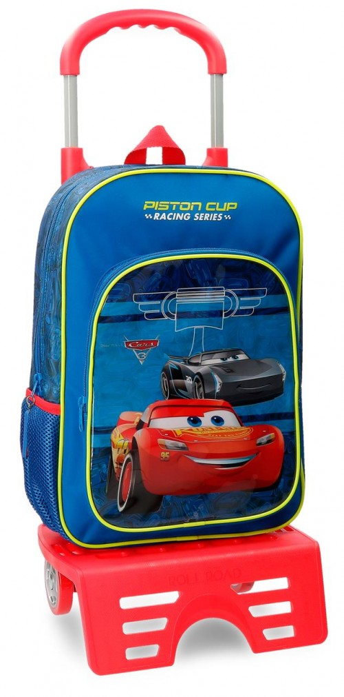 40623N1 mochila 38 cm carro cars racing series