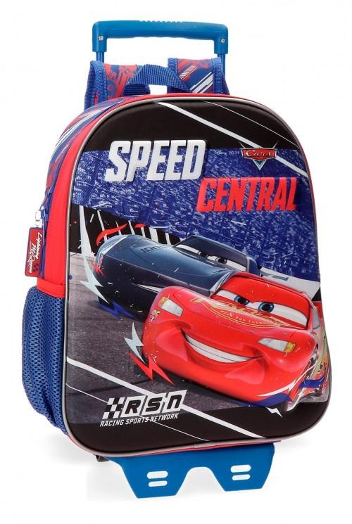 43622N1 mochila 33 cm con carro cars central