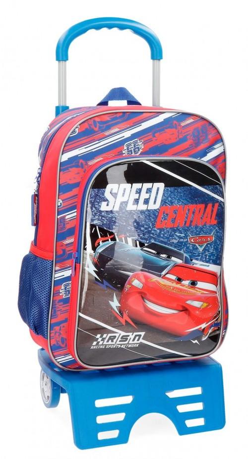 43623N1 mochila 40 cm con carro cars central