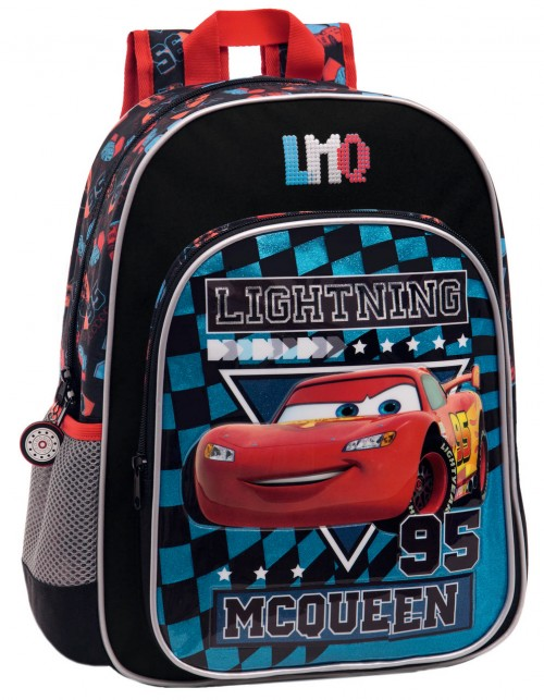 Mochila Cars Glitter 24423A1 Adaptable a Carro