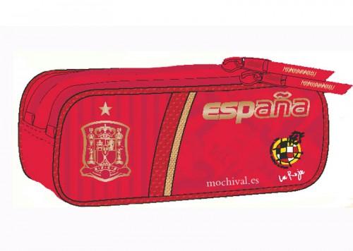 estuche doble cremallera  seleccion española 192064