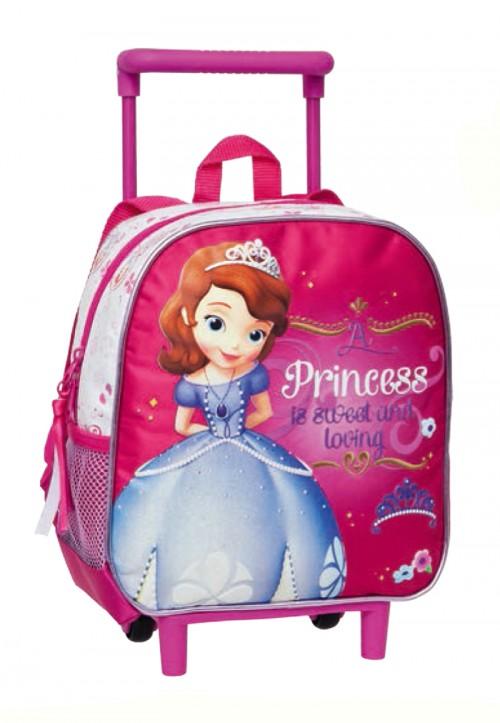 mochila carro fijo princesa sofia 16526