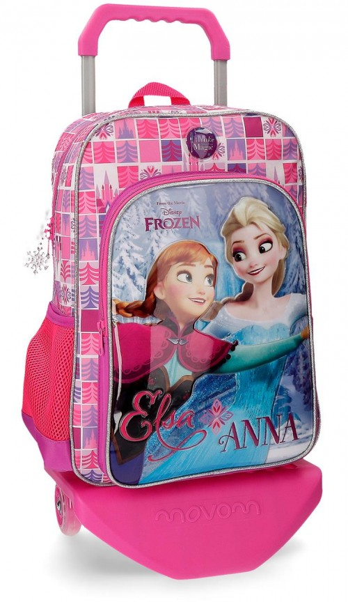 20723N1 mochila con carro 40 cm frozen magic