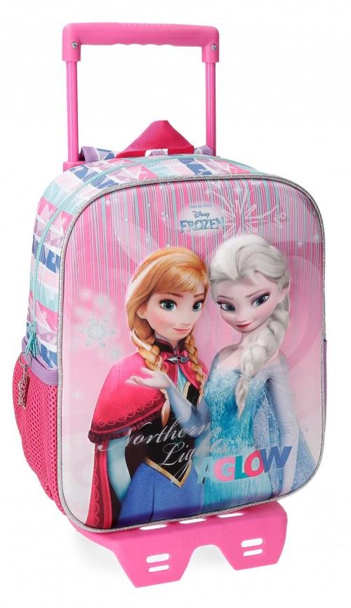 22621N1 mochila 28 cm con carro frozen fantasy